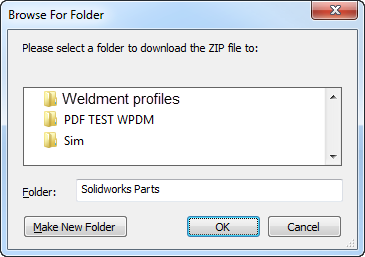 Downloaded Solidworks Weldment Profiles    Learn More