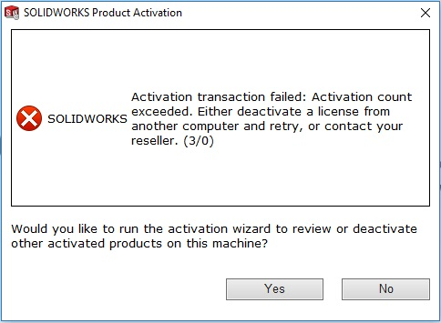 Trouble shooting on the license transaction error