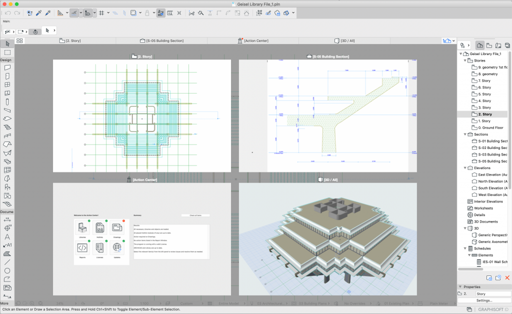 23 days of archicad 23: tab expose