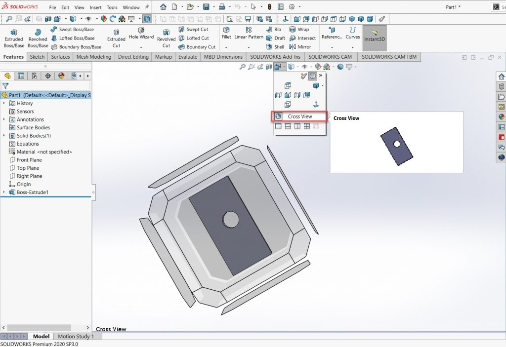 Creating a New View Orientation